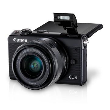 rekomendasi kamera untuk traveling - Canon EOS M1000
